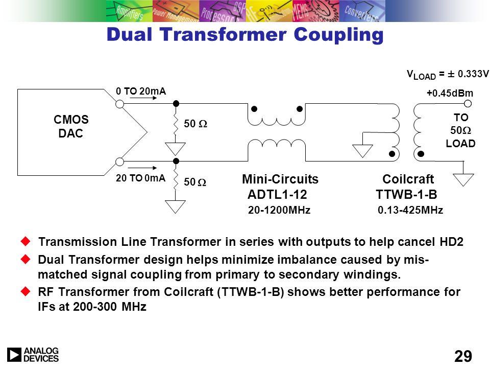 Dual Transformer Coupling