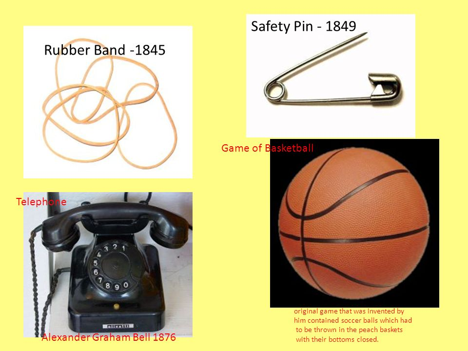 Safety Pin Rubber Band Game of Basketball Telephone