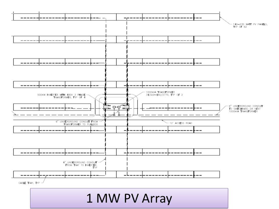 1 MW PV Array