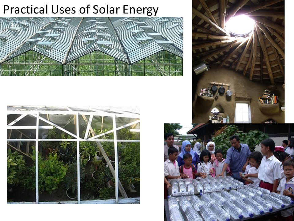 Practical Uses of Solar Energy