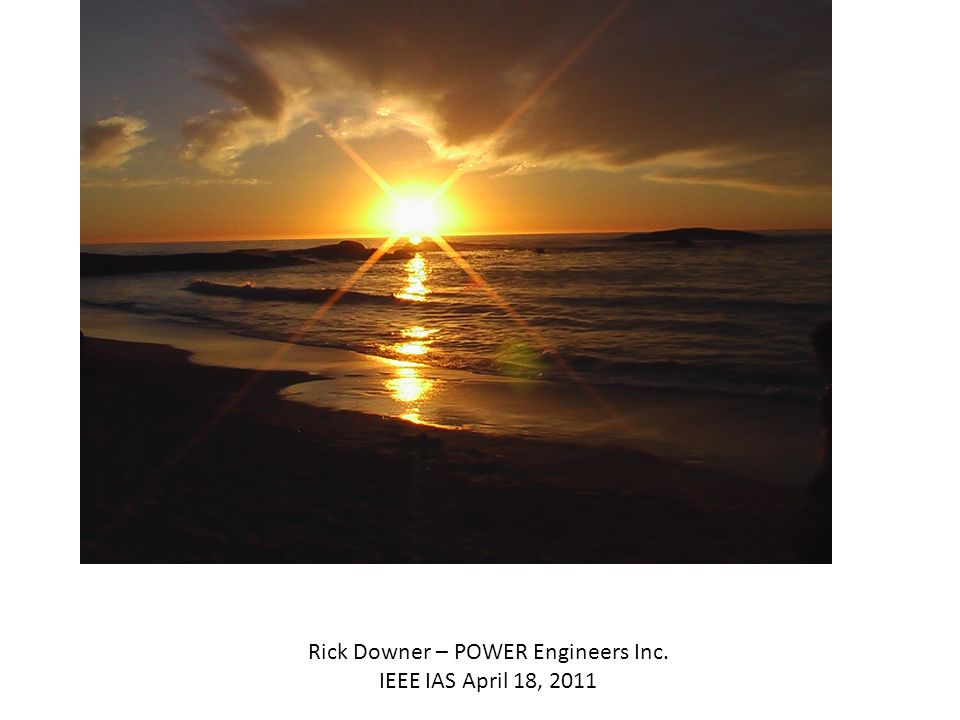 Rick Downer – POWER Engineers Inc.