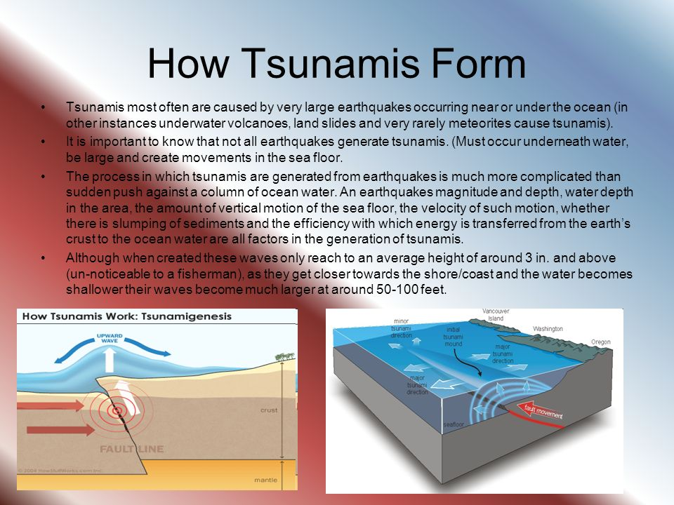 Earthquakes And Tsunamis - ppt download