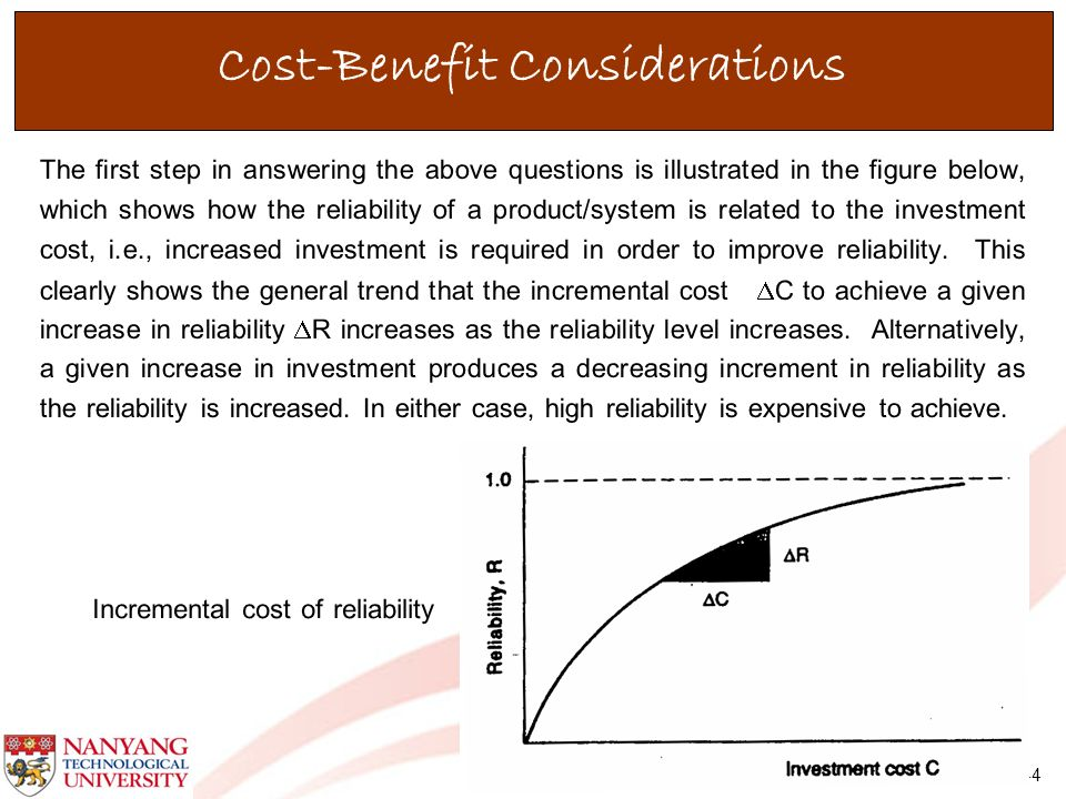 Cost-Benefit Considerations