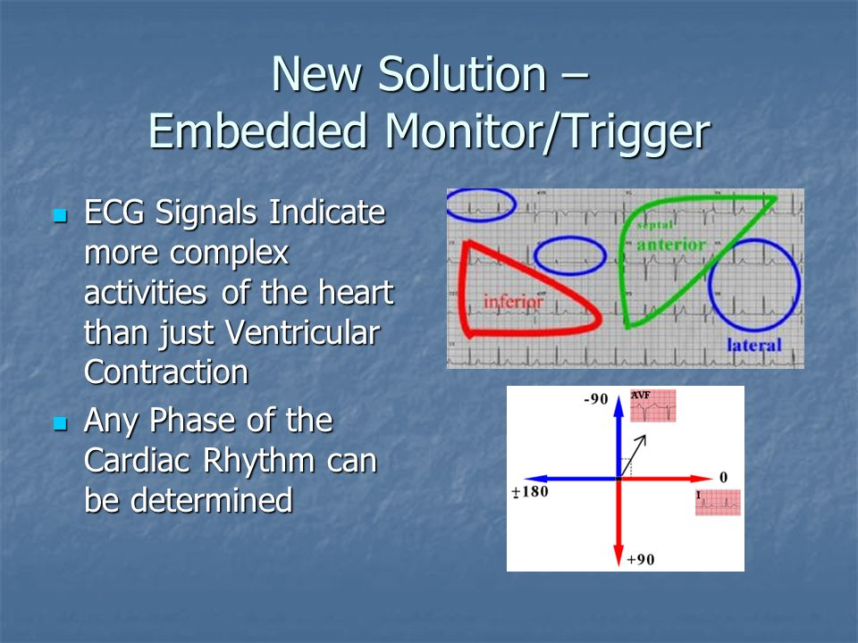 New Solution – Embedded Monitor/Trigger