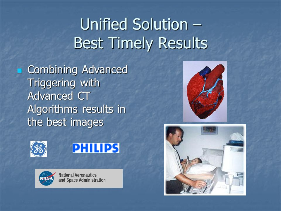 Unified Solution – Best Timely Results