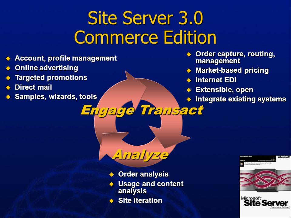 Site Server 3.0 Commerce Edition