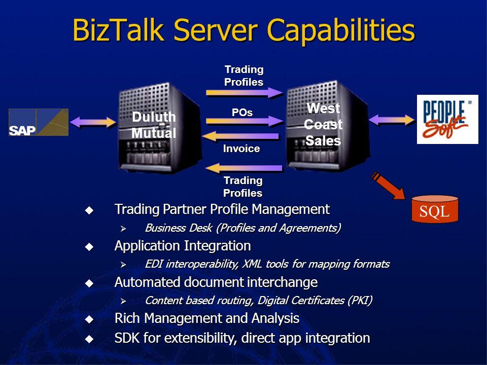 BizTalk Server Capabilities