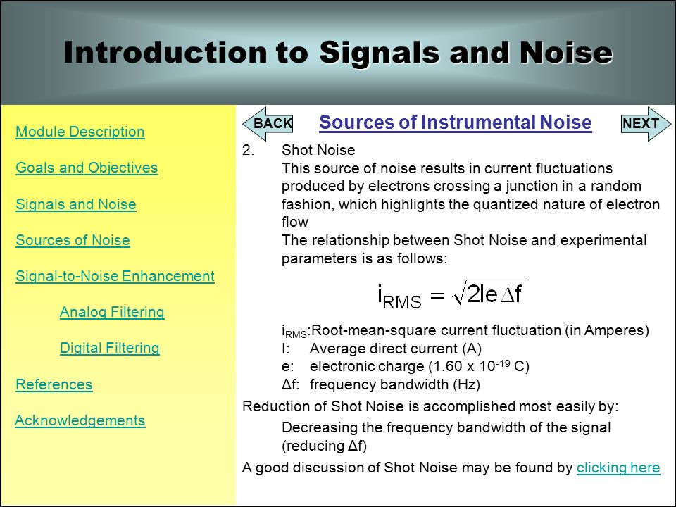 the signal and the noise introduction Note the signal-to-noise is inverse of rsd (relative standard deviation) has back  in chapter 1 so: s/n = 1/rsd  extra sampling only introduced extra noise.