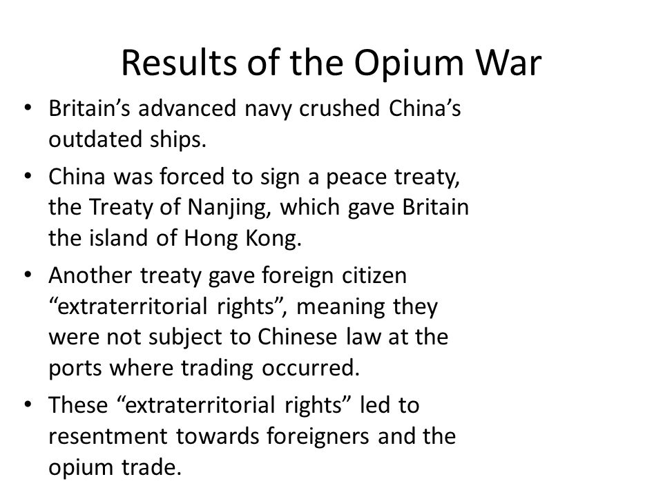 an analysis of the british in trading opium An analysis of lord palmerston's despatch to the  for british goods to exchange  been used to bring opium hauls ashore from trading.