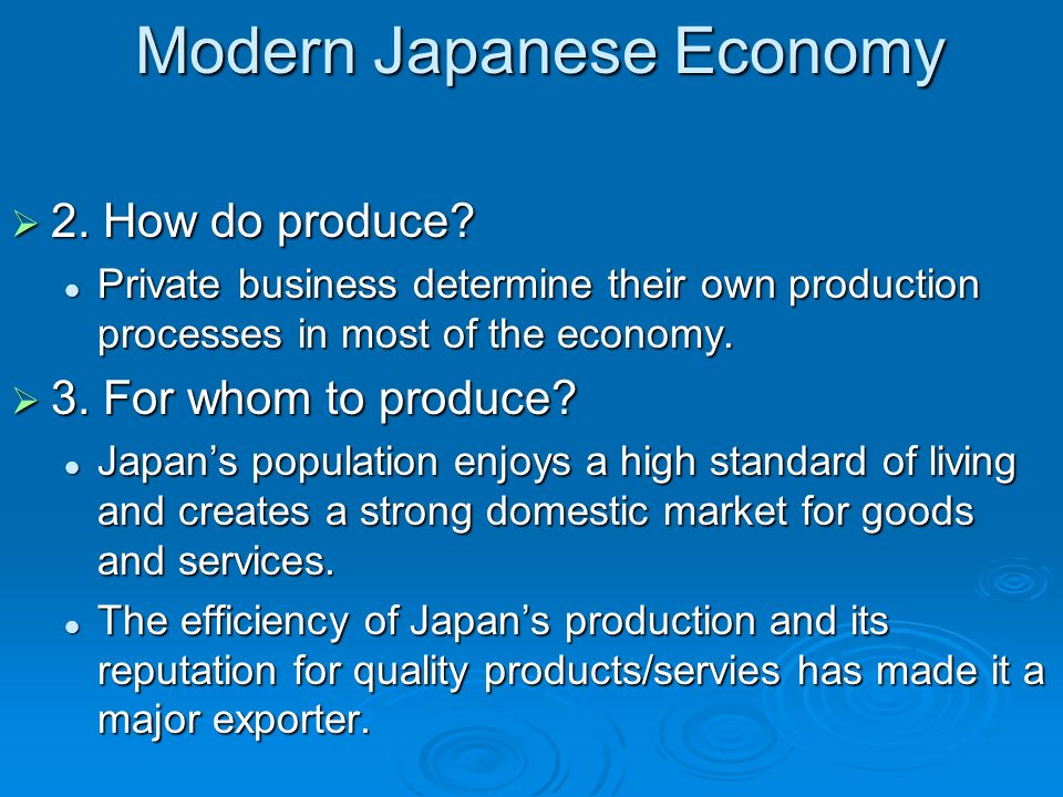 how did the economy of japan Japan - history: it is not known  that yamatai was a local centre of power in kyushu and that further unification did not take place until at least a  economy.