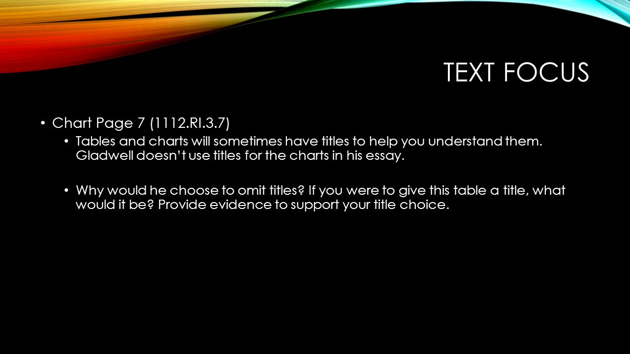 Text focus Chart Page 7 (1112.RI.3.7)