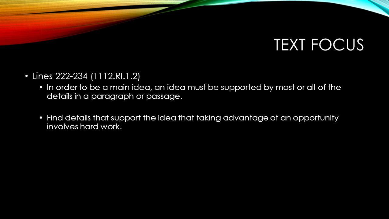 Text focus Lines 222-234 (1112.RI.1.2)