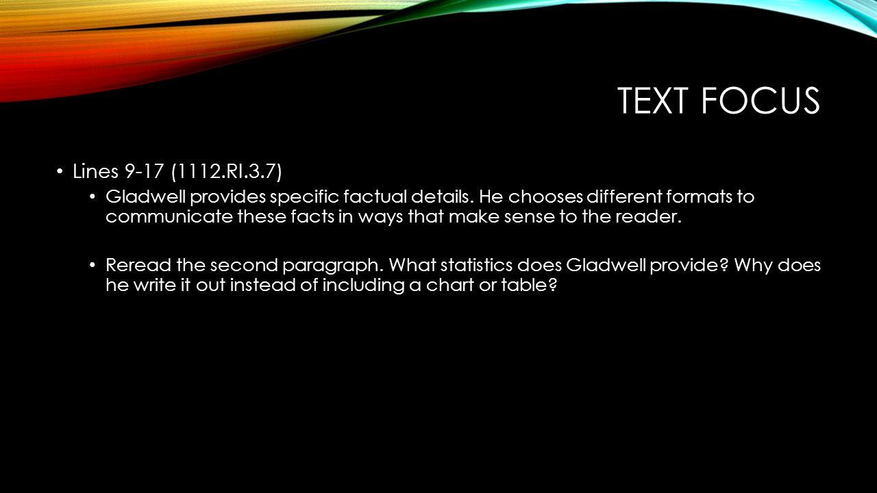 Text focus Lines 9-17 (1112.RI.3.7)