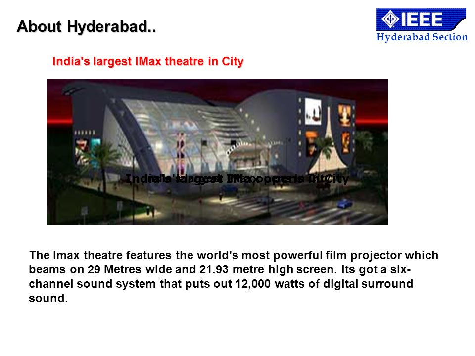 India s largest IMax opens in City India s largest IMax opens in City