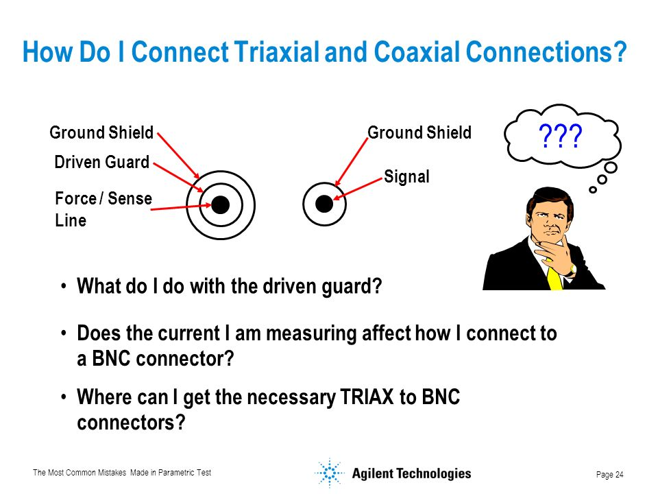 How Do I Connect Triaxial and Coaxial Connections