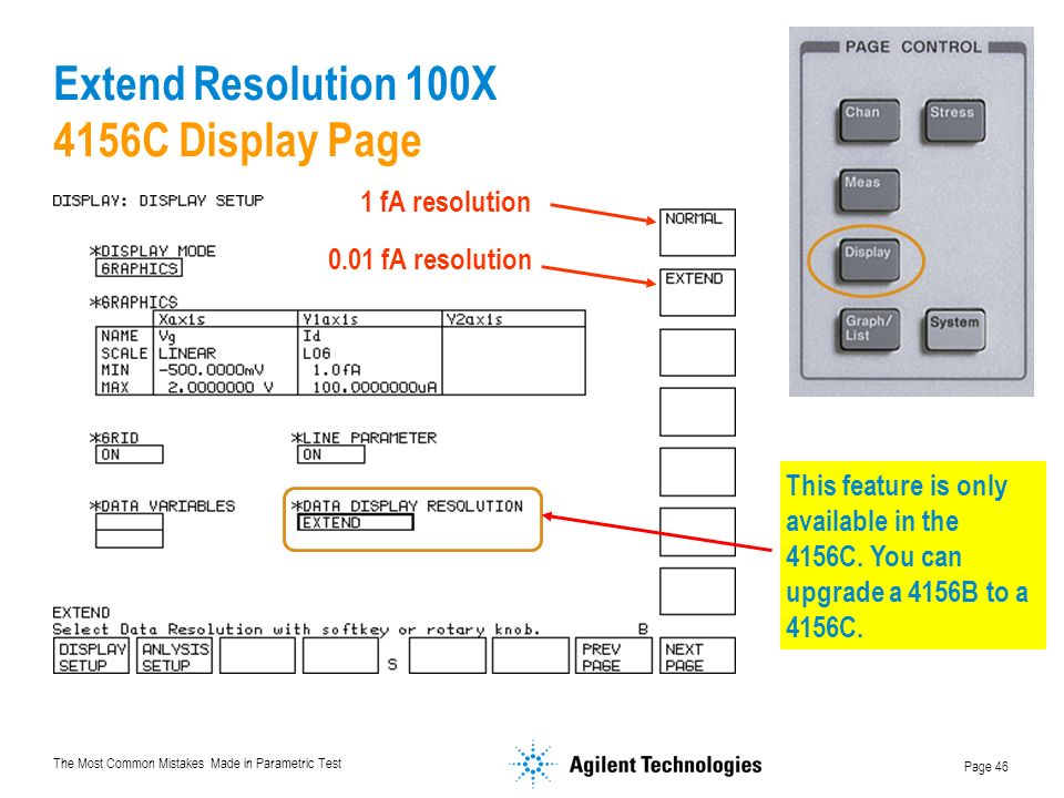 Extend Resolution 100X 4156C Display Page
