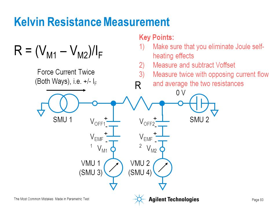 Kelvin Resistance Measurement