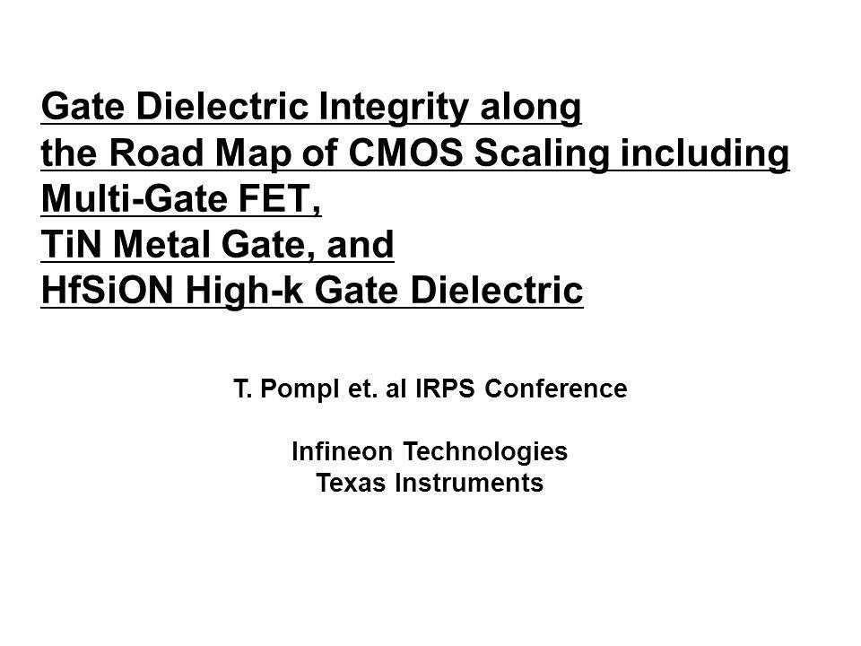T. Pompl et. al IRPS Conference Infineon Technologies