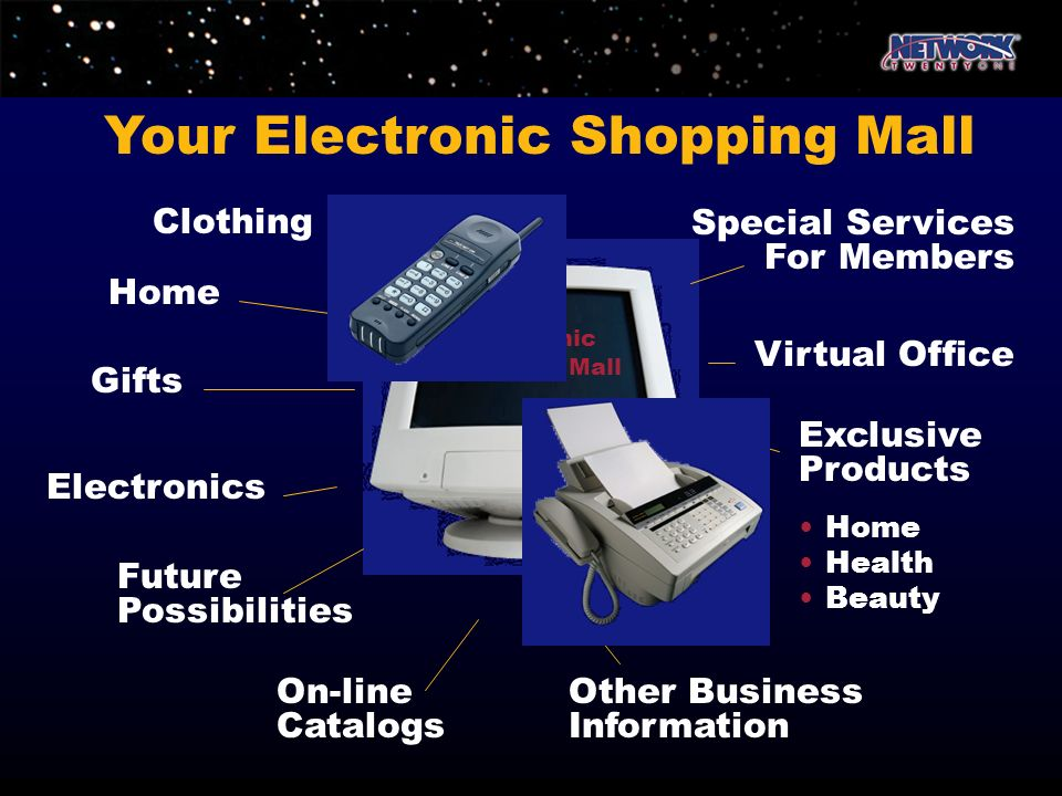 Your Electronic Shopping Mall
