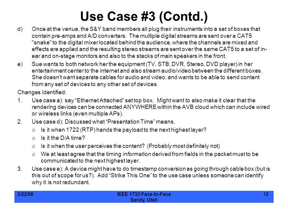 Use Case #3 (Contd.)