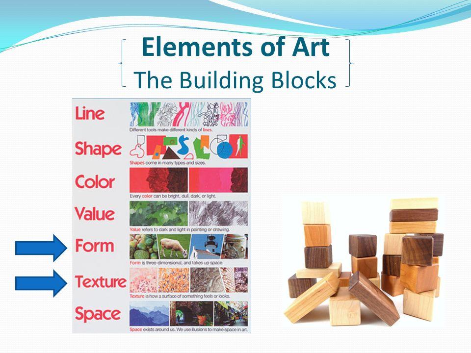 Building Blocks Of Art : Back to the basics elements of art principles design