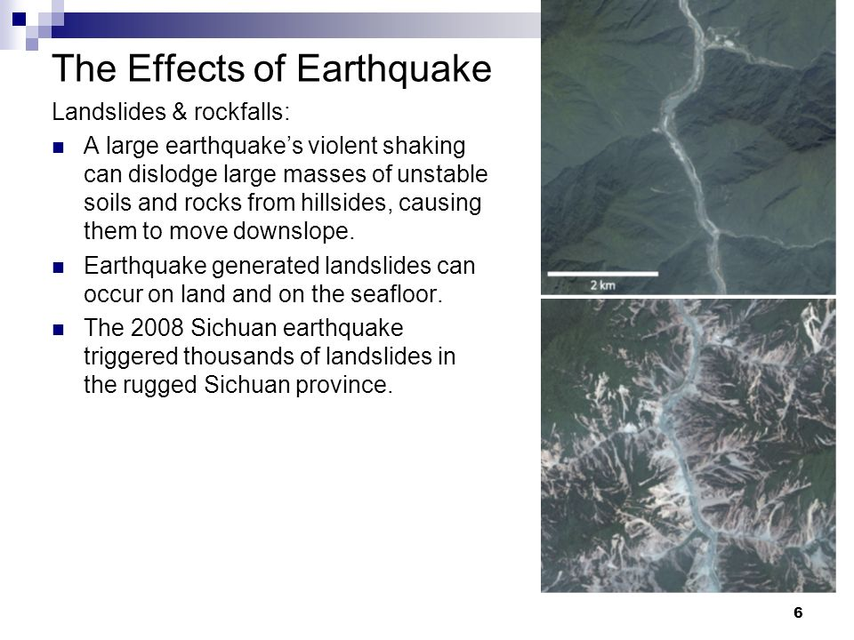 The Effects of Earthquake
