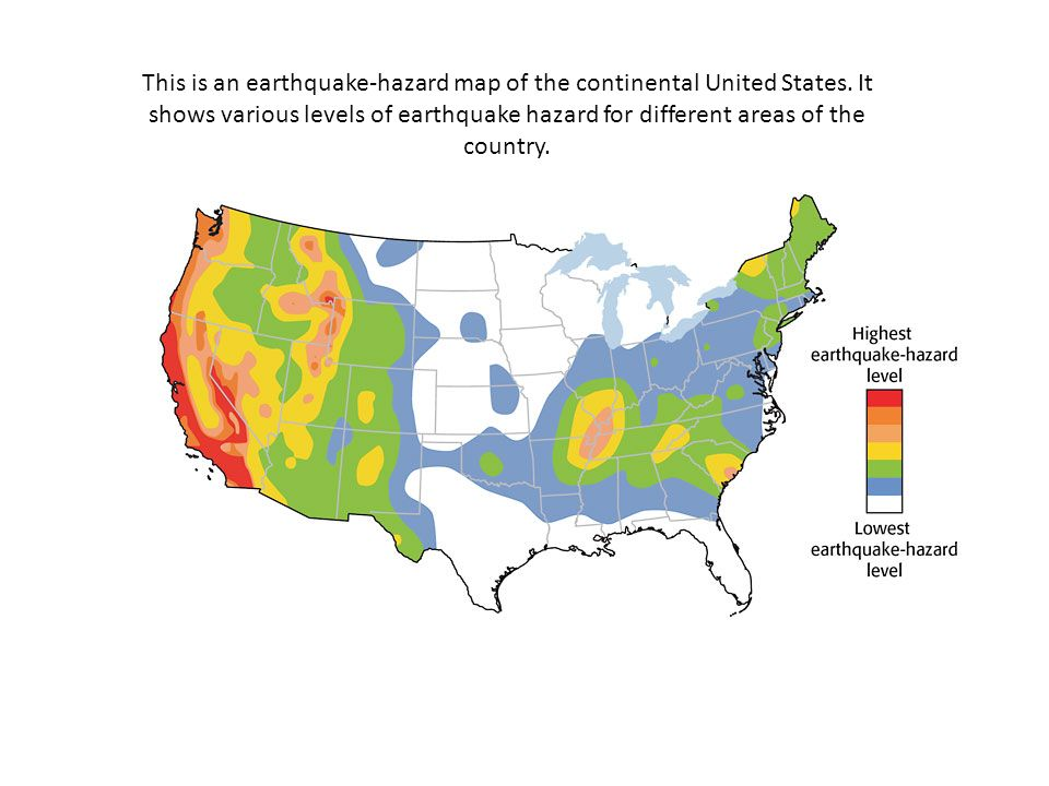 Introduction To The National Seismic Hazard Maps Elevatorbobs - Earthquake us map