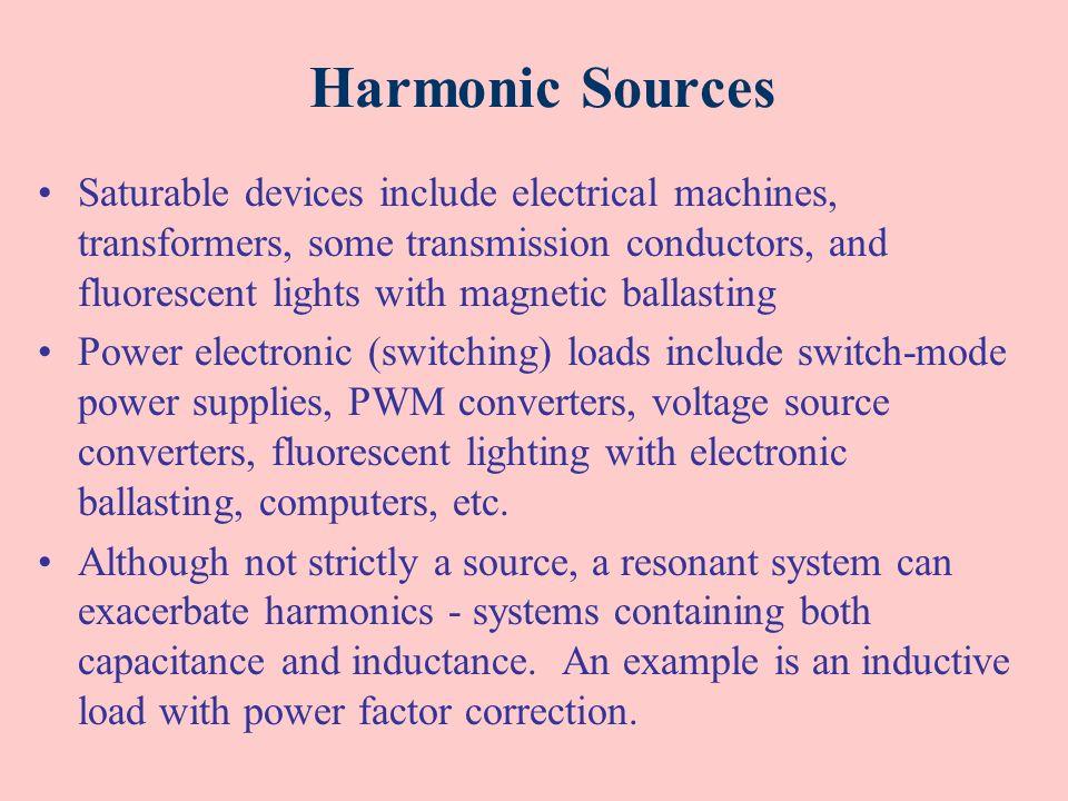 Harmonic Sources