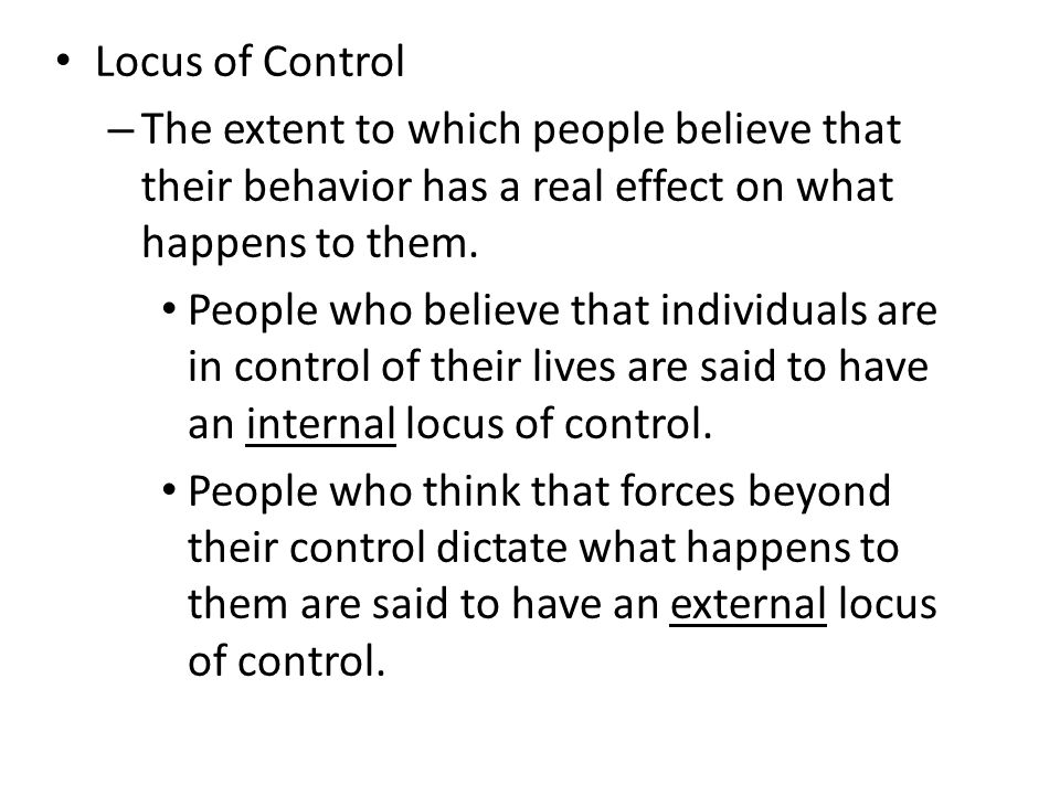 To what extent do humans control