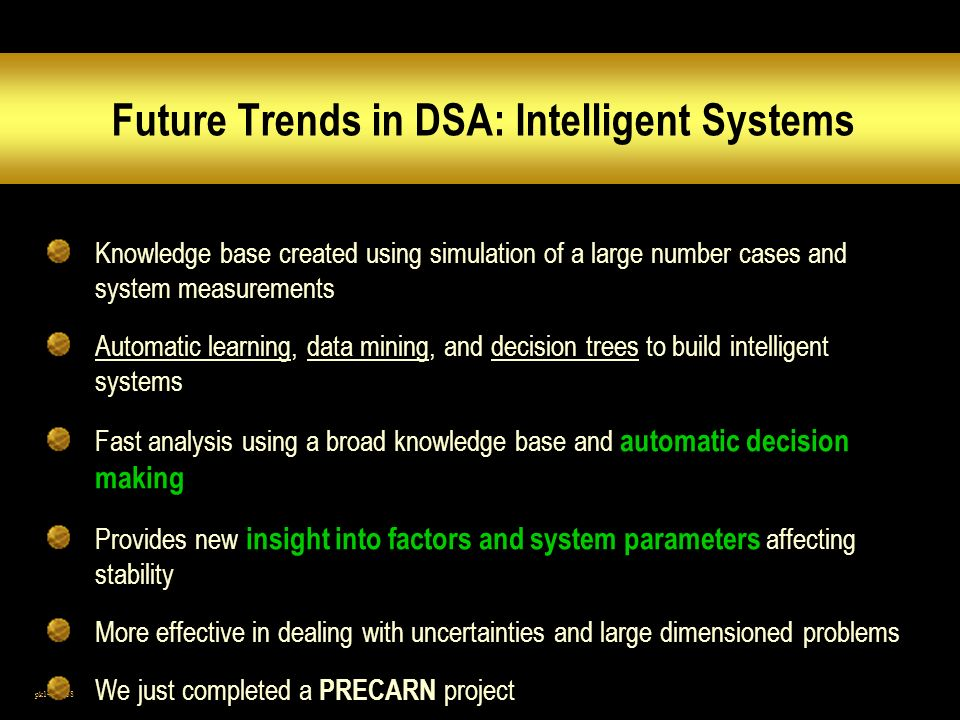 Future Trends in DSA: Intelligent Systems