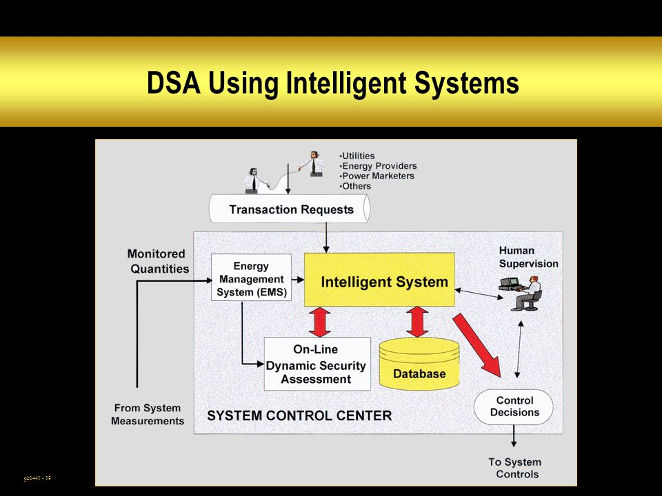 DSA Using Intelligent Systems