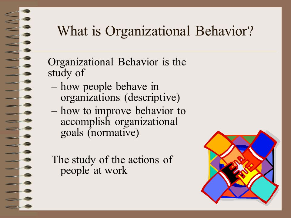 The study of organizational behaviour enables managers to ...