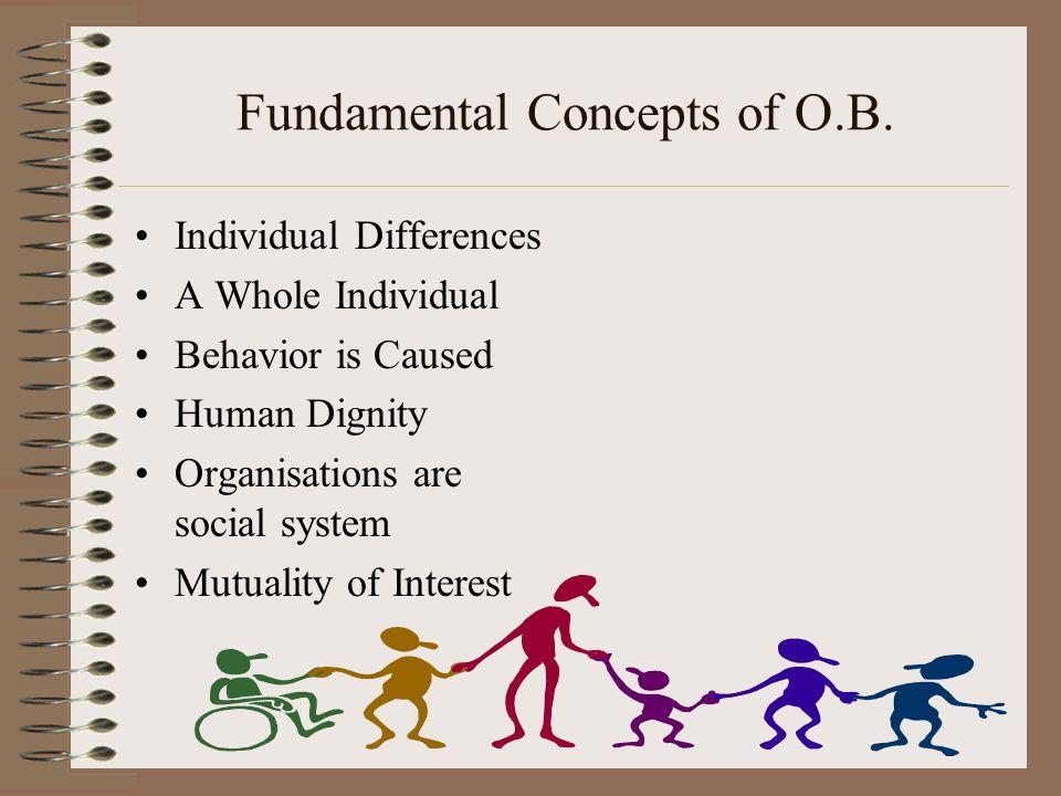 fundamental concepts of organisational behaviour pdf