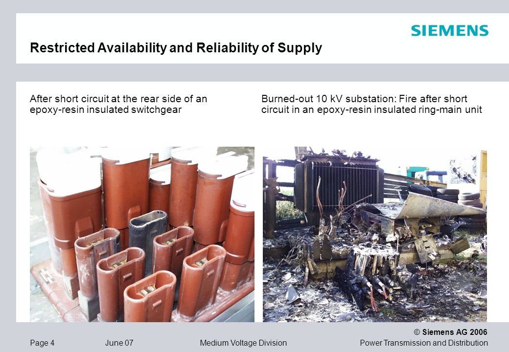 Restricted Availability and Reliability of Supply
