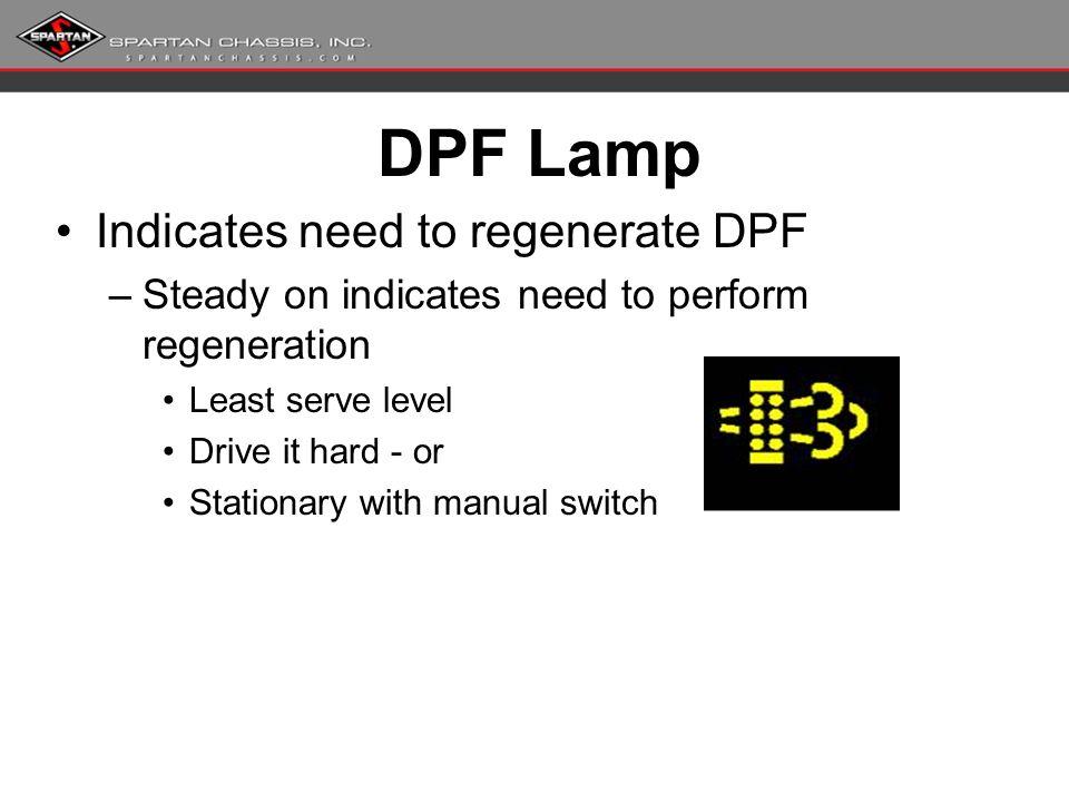 freightliner manual regen