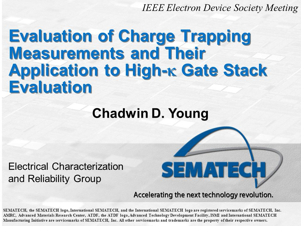 IEEE Electron Device Society Meeting