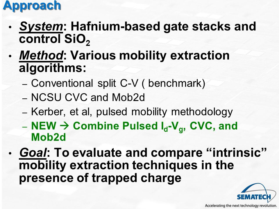 System: Hafnium-based gate stacks and control SiO2