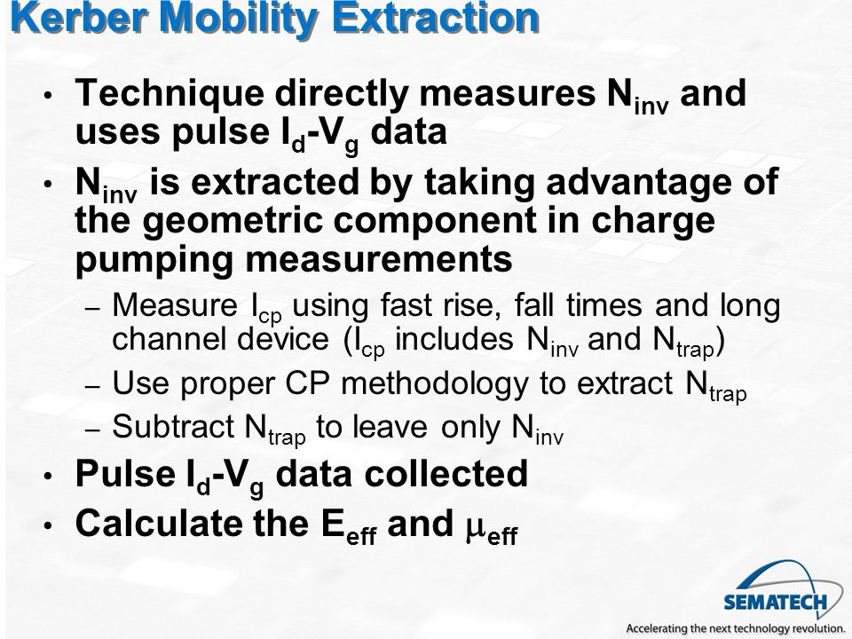Kerber Mobility Extraction