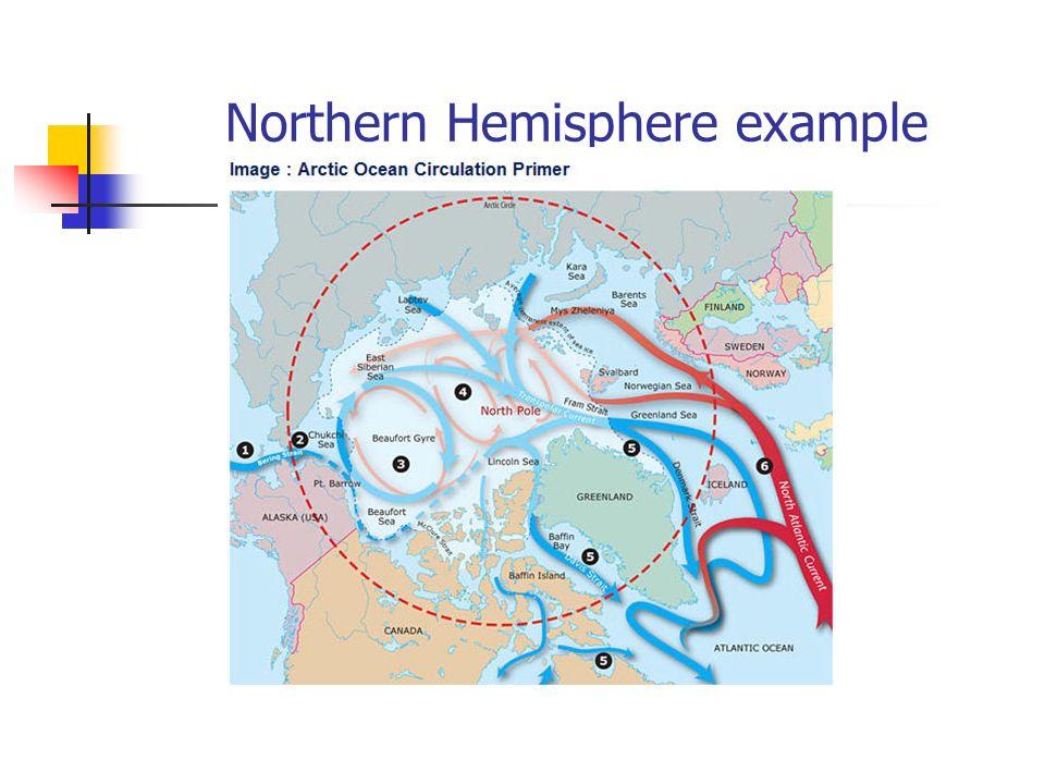 Northern Hemisphere example