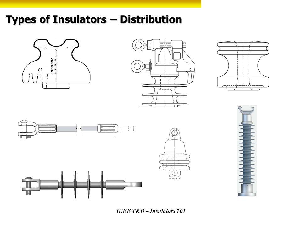 Types of Insulators – Distribution