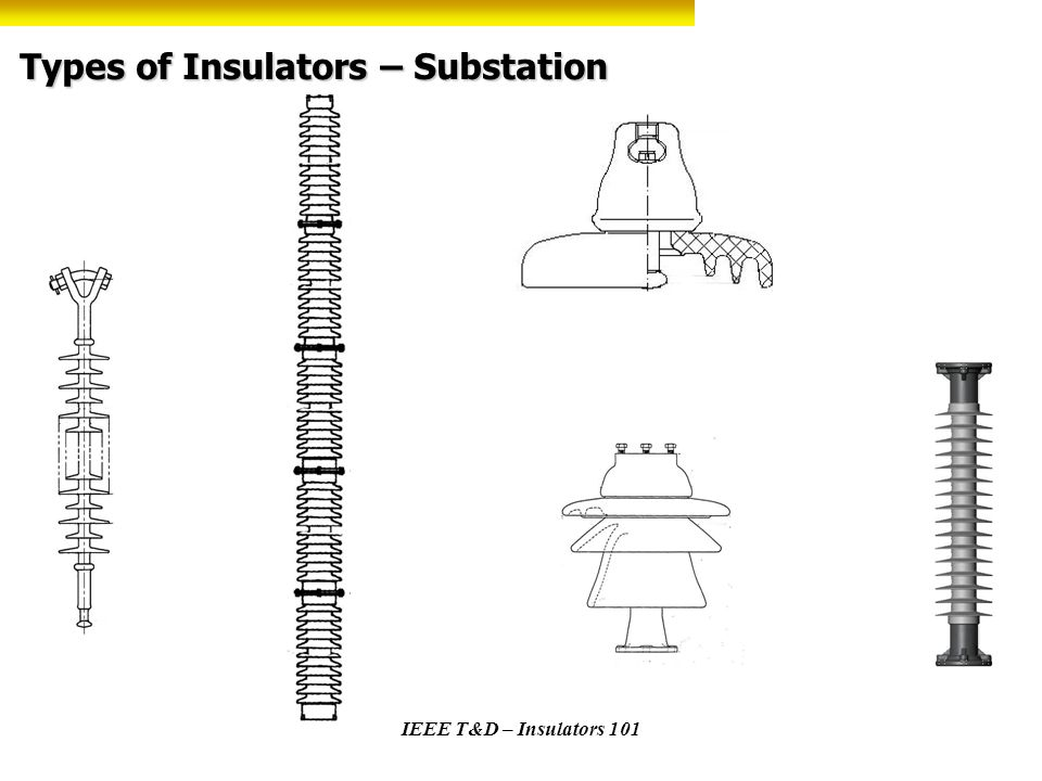 Types of Insulators – Substation
