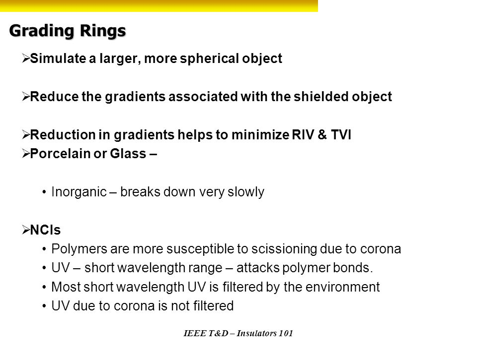 Grading Rings Simulate a larger, more spherical object