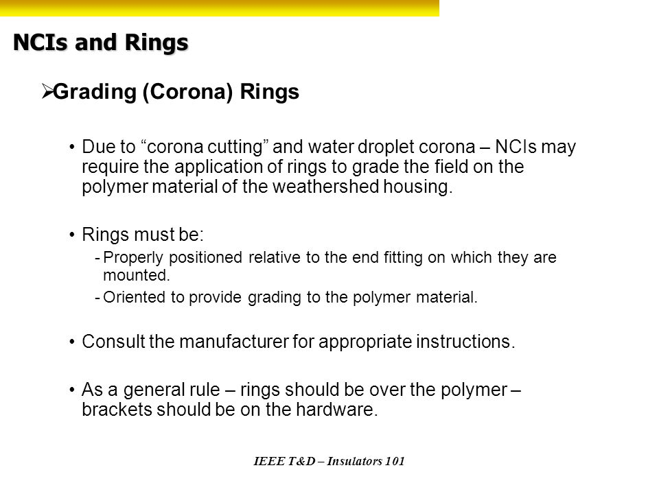 NCIs and Rings Grading (Corona) Rings