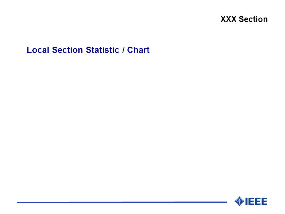 Local Section Statistic / Chart