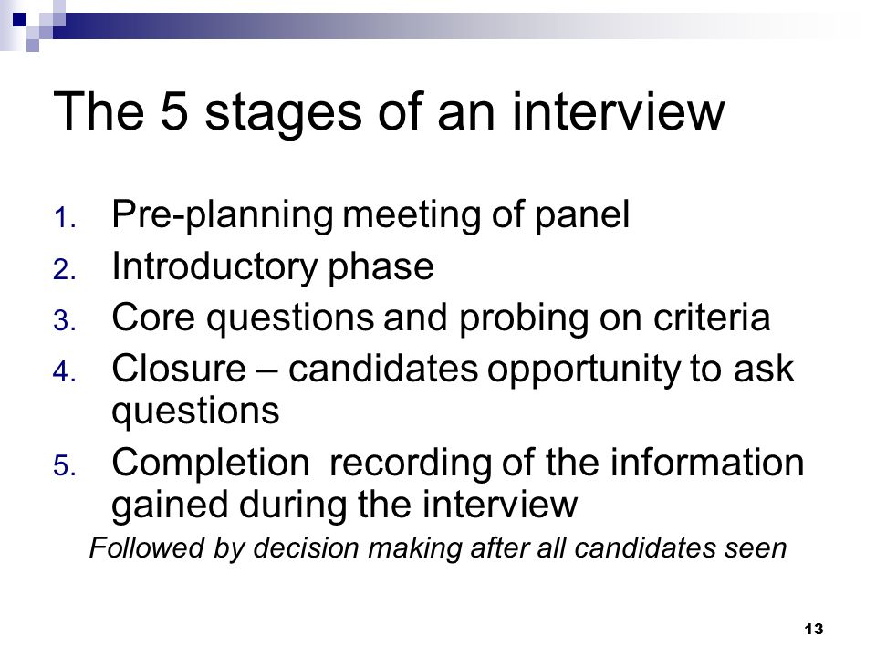 the five stages of an interview in counselling Counseling and human services counseling interview rating form  5 4 3 2 1  did counselor establish good rapport with client was the stage set for a.