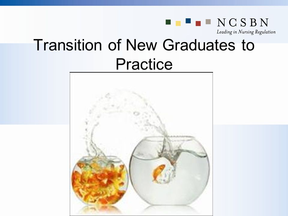 Transition of New Graduates to Practice
