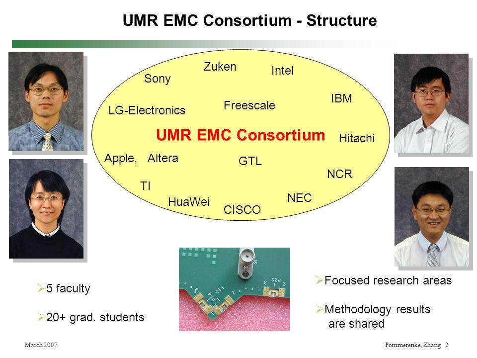 UMR EMC Consortium - Structure