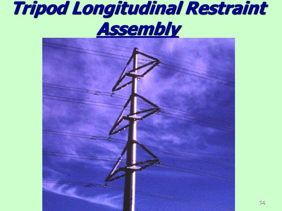 Tripod Longitudinal Restraint Assembly