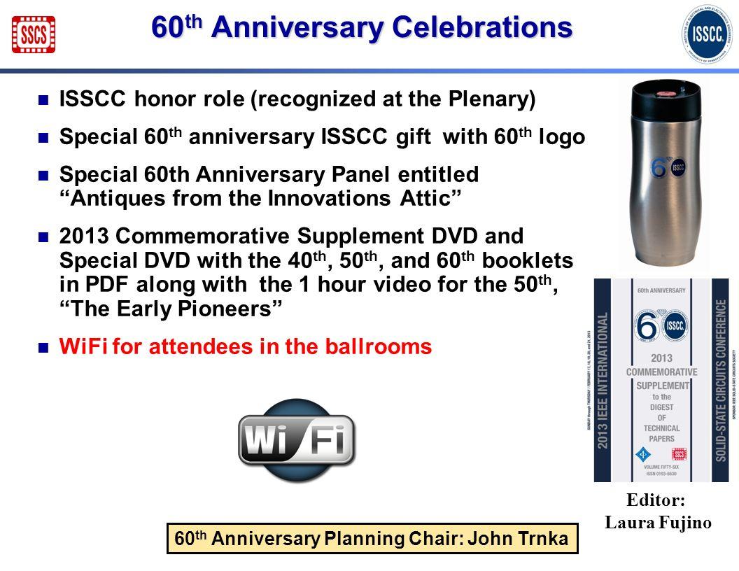 60th Anniversary Celebrations