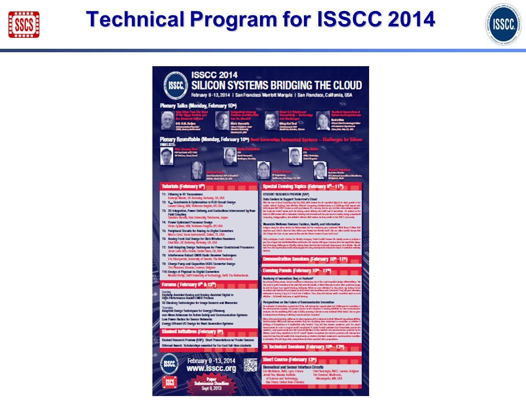 Technical Program for ISSCC 2014